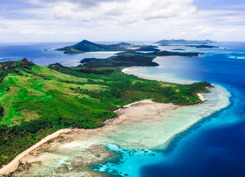 Dive the warm waters of Fiji
