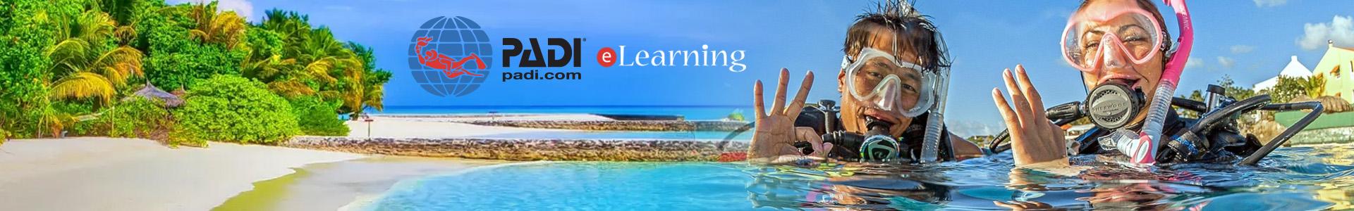 PADI eLearning Scuba Lessons Online