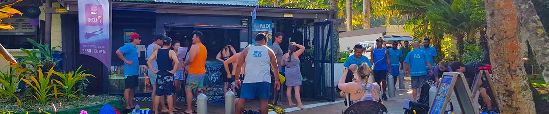 Diveaway Fiji Coral Coast Fiji Islands Dive Shop Hideaway Resort and Spa